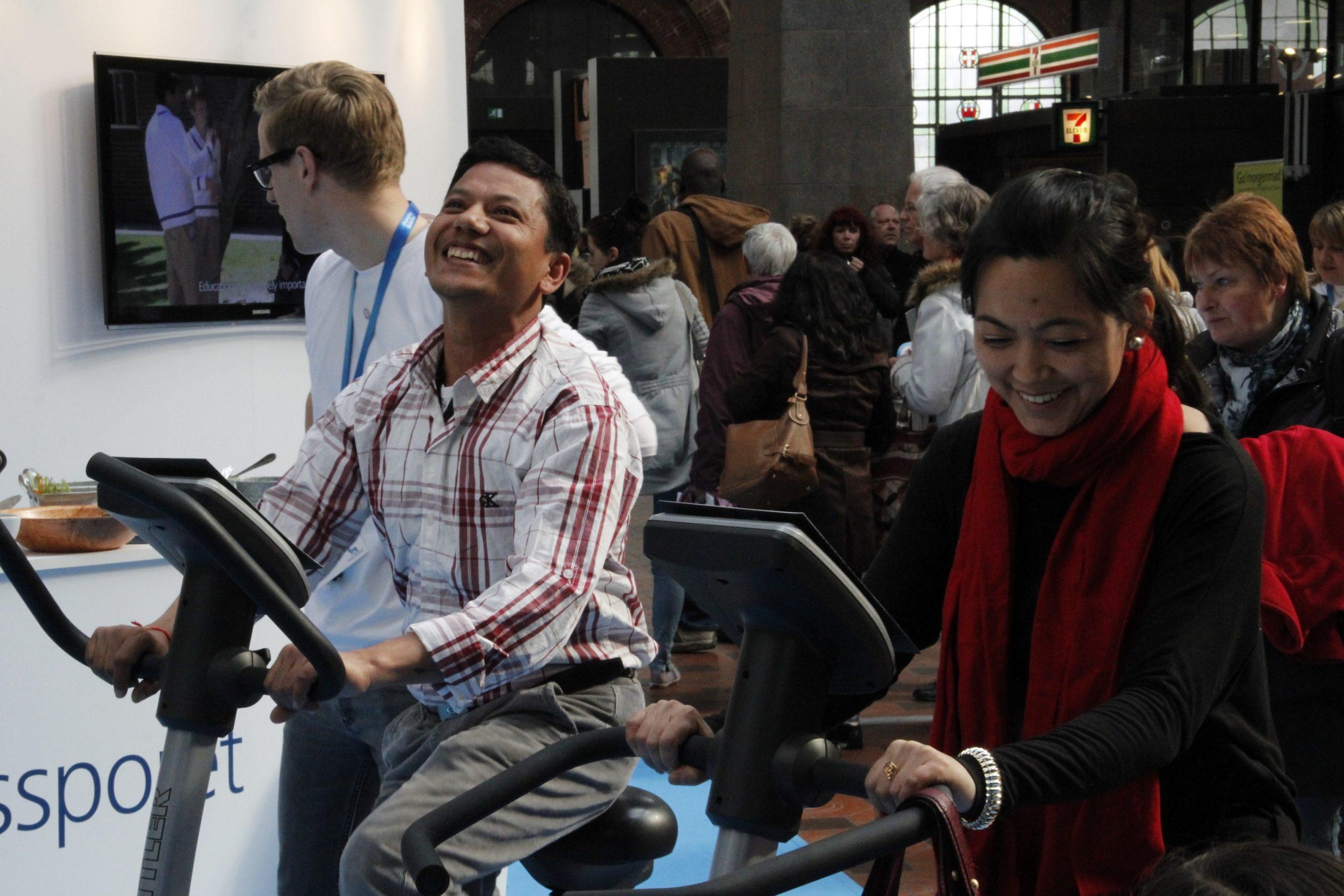 Interactive Bikes for Diabetes Awareness